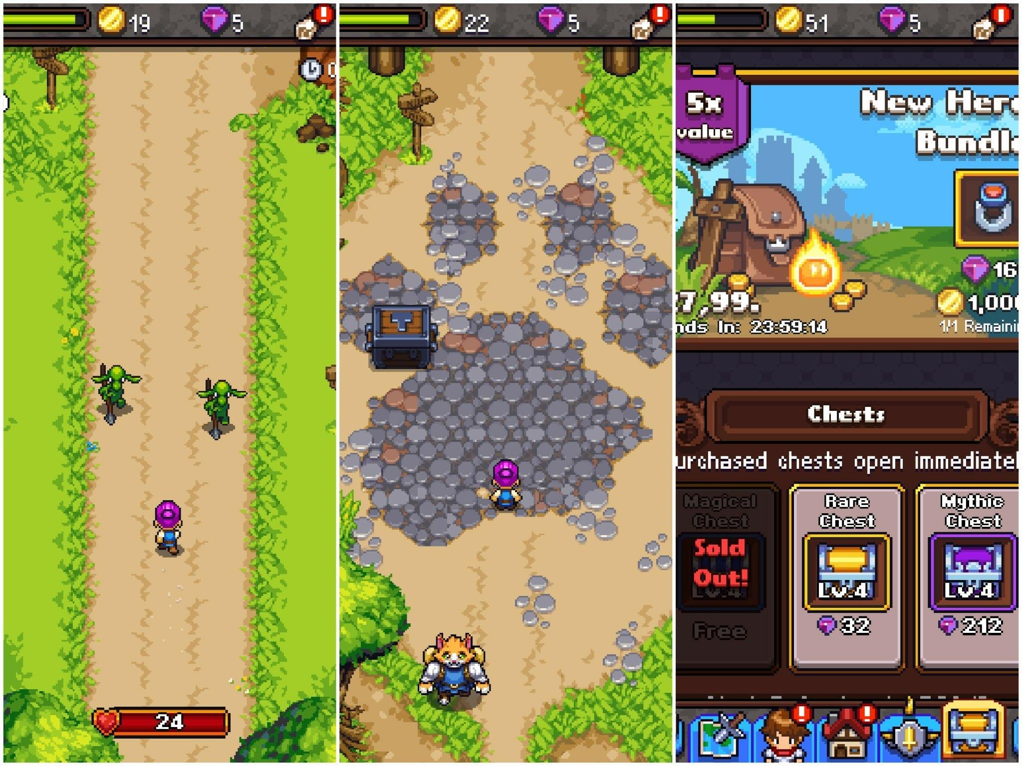 Photo of Dash Quest Hero ностольгия по эпохе 16-бит.