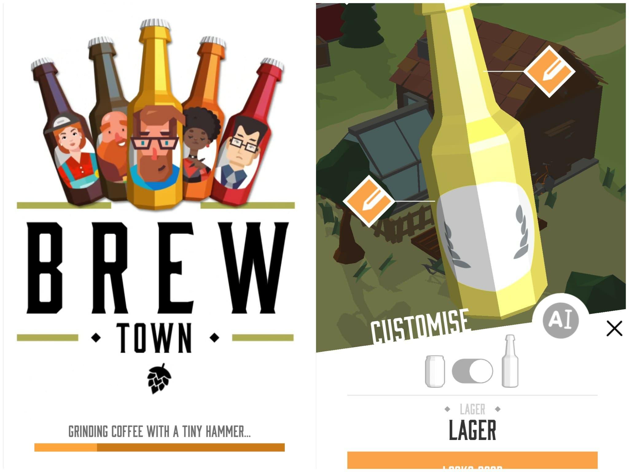 Brew Town создай свой сорт пива