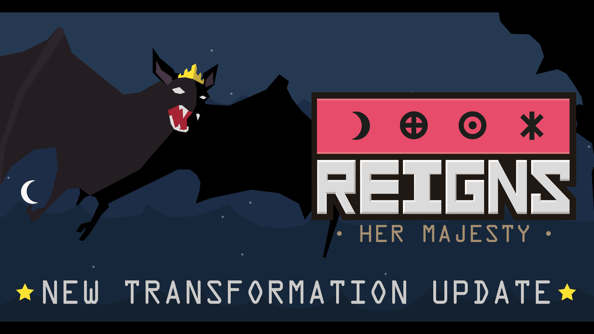 Reigns: Her Majesty Transformation Update