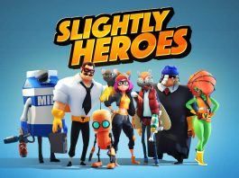 Новый VR шутер на андроид - Slightly Heroes