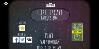 Прохождение Cube Escape: Harvey's Box