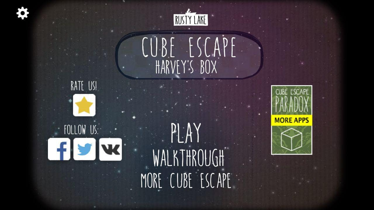 Прохождение Cube Escape: Harvey's Box