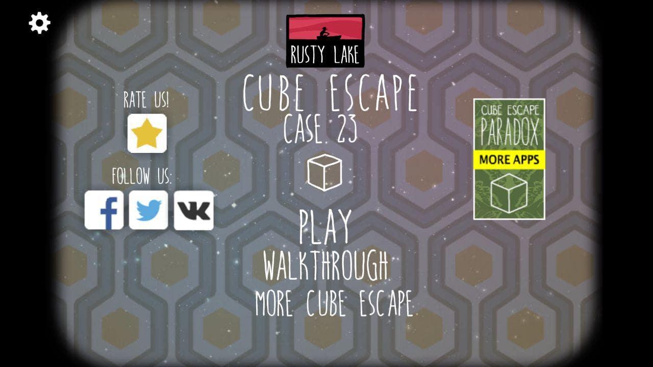 Прохождение Cube Escape: Case 23