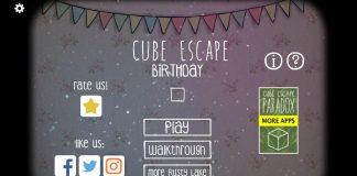 Прохождение Cube Escape: Birthday