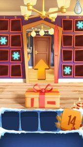 Прохождение Открой 100 Дверей - Новогодние Головоломки
