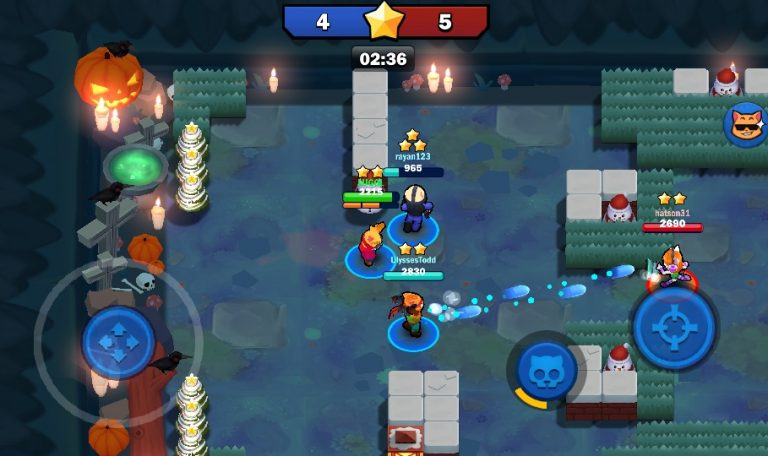 Super Cat клон Brawl Stars