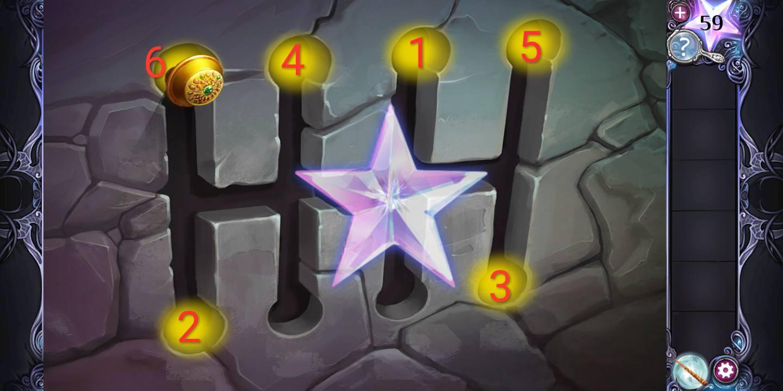 Прохождение AE Mysteries Cursed Crown девятая глава шаг 9