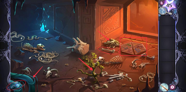 Прохождение AE Mysteries Cursed Crown шестая глава шаг 2