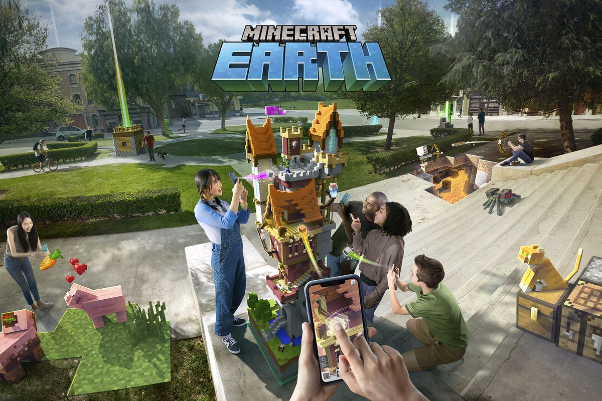 Minecraft Earth запускает бета-тест