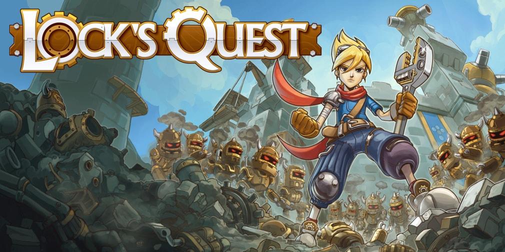 Lock's Quest скоро на андроид
