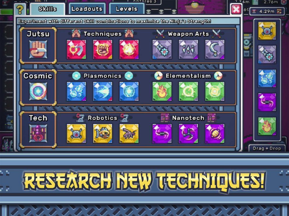 Ninja Prime: Tap Quest космический тапер