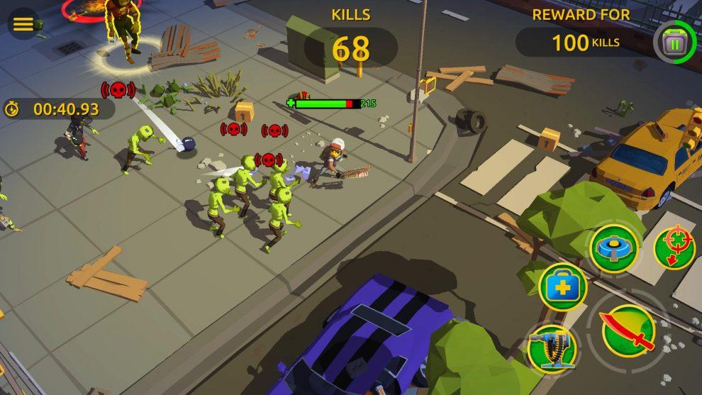 Zombie Blast Crew предварительная регистрация для борьбы с зомби