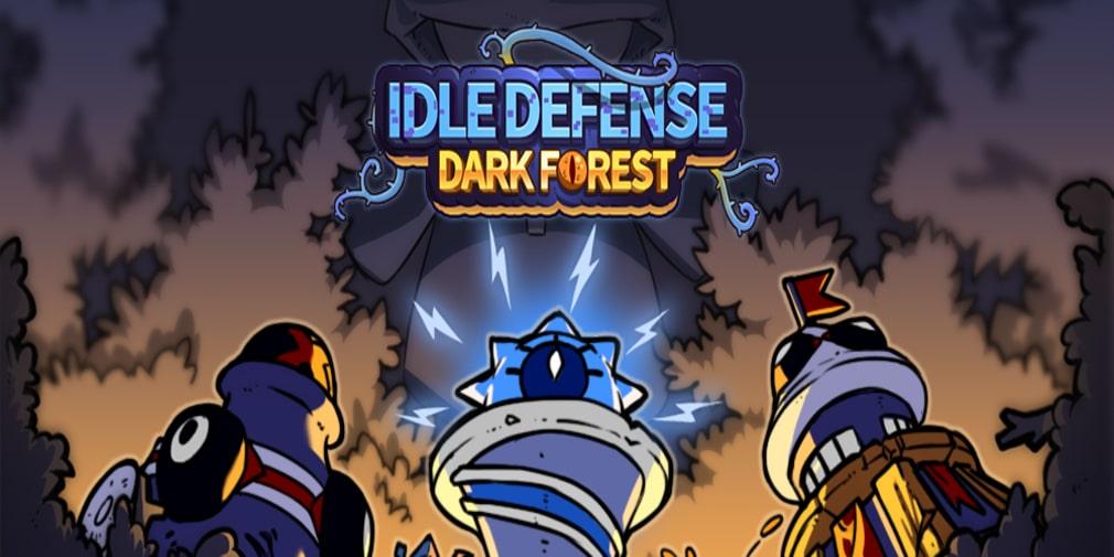 Idle Defense: Dark Forest останови монстров с помощью башен