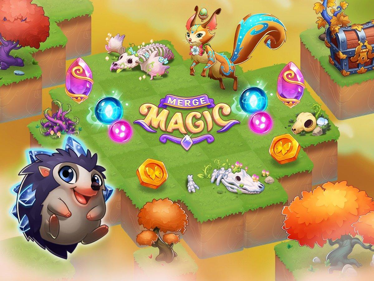 Создавайте мифических существ в Merge Magic