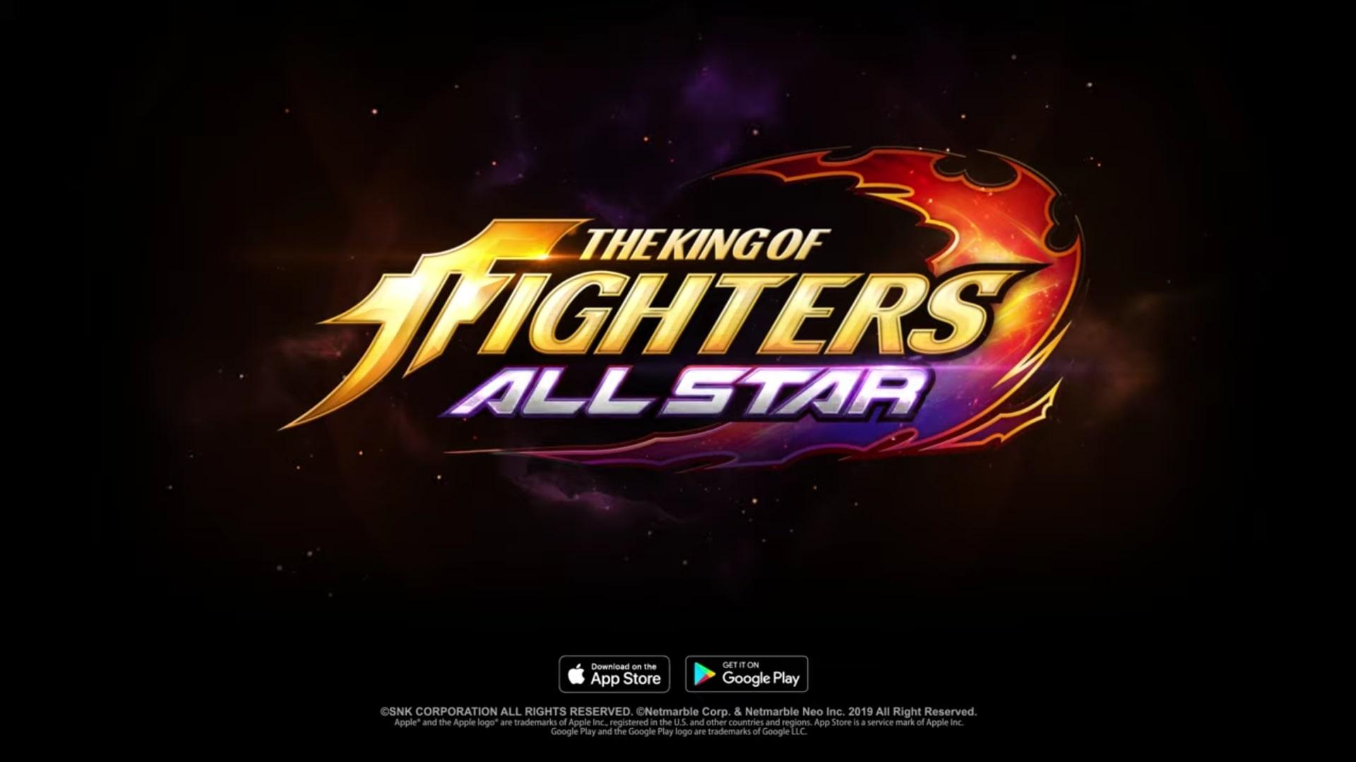 Игра The King of Fighters ALLSTAR появилась на мобильных устройствах