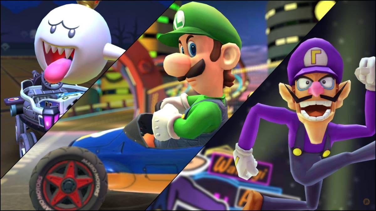 Хэллоуинское обновление игры Mario Kart Tour