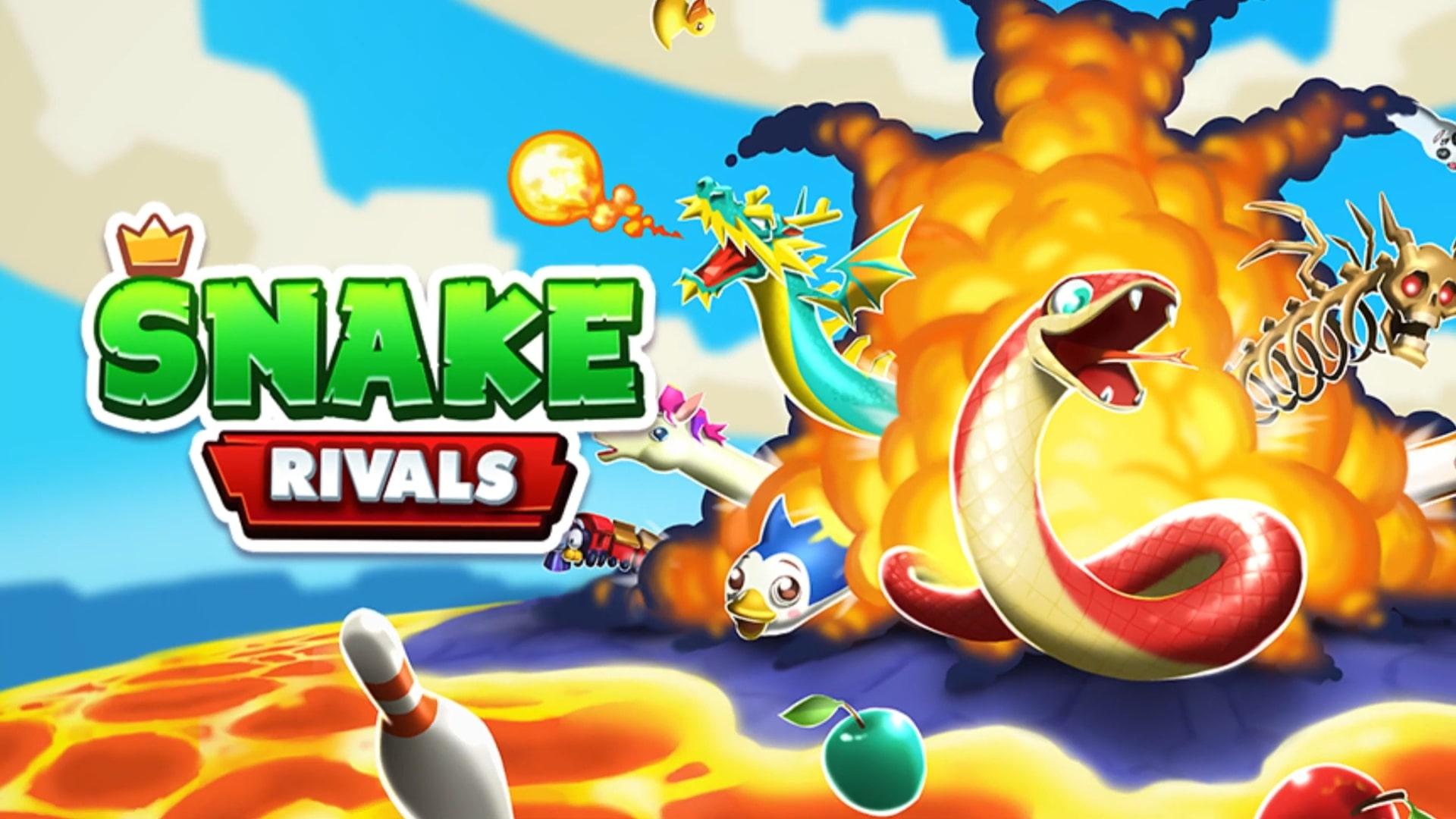 Королевская битва со змеями в Snake Rivals