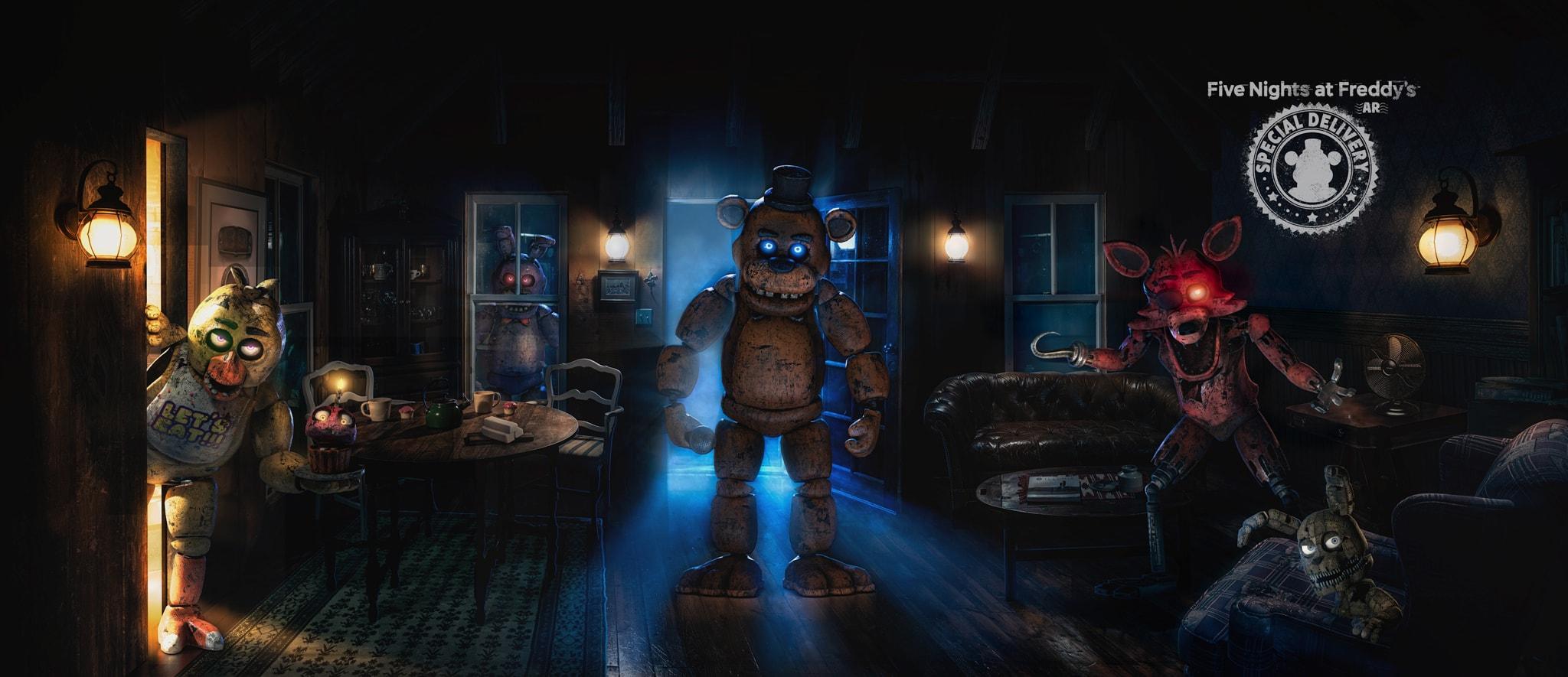Стань бета-тестером Five Nights at Freddy's AR: Special Delivery