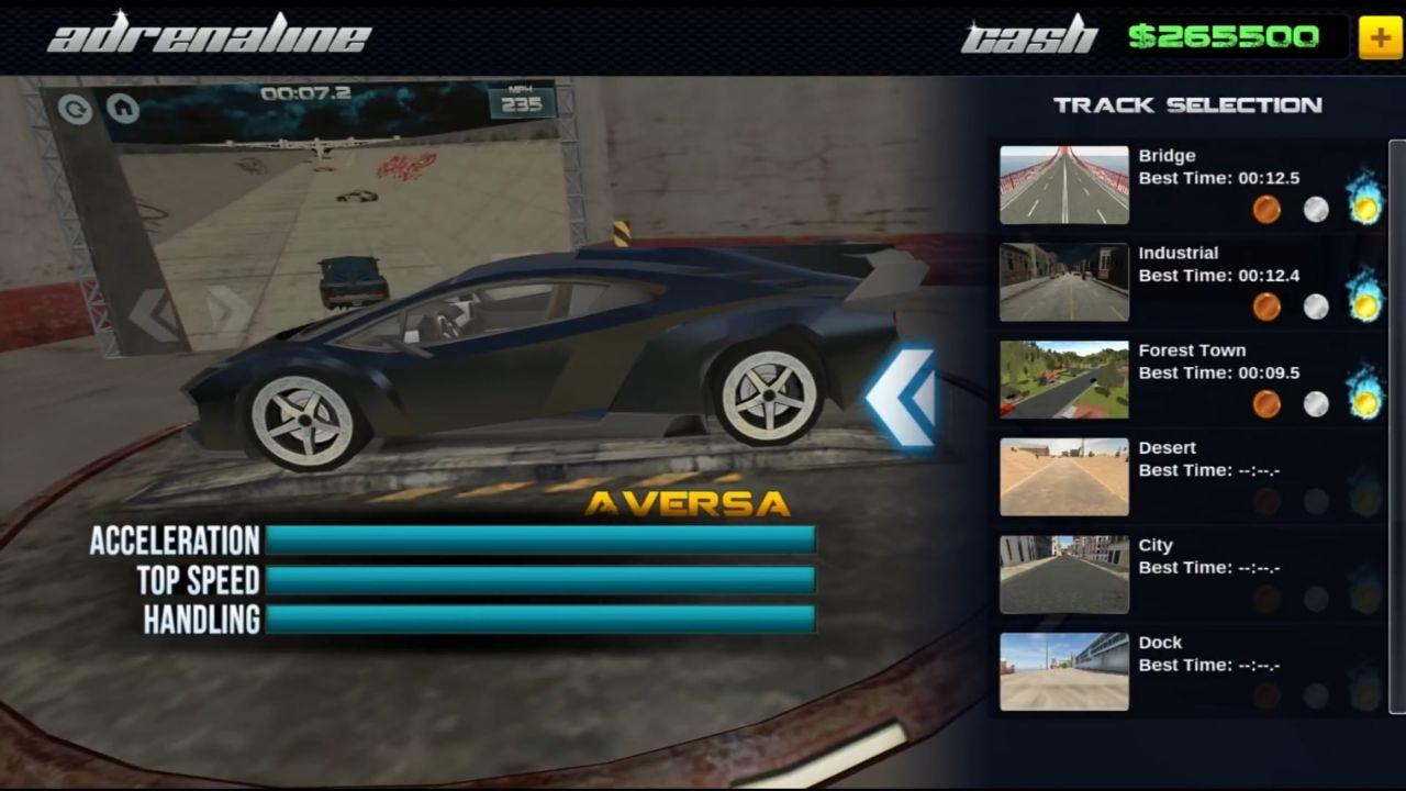 Гонка Adrenaline выходит на iOS