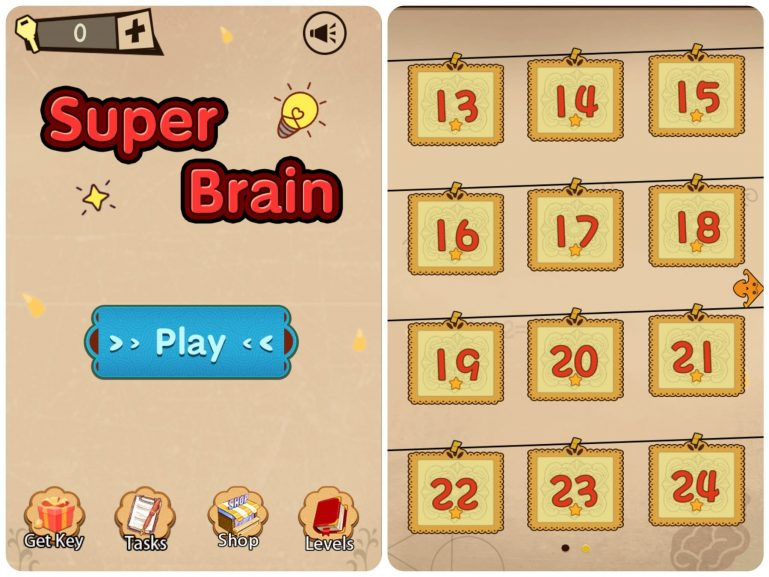 Прохождение игры Super Brain-Funny Puzzle
