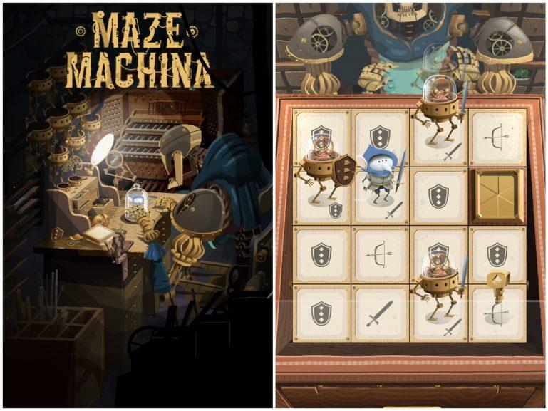 Прохождение игры Maze Machine