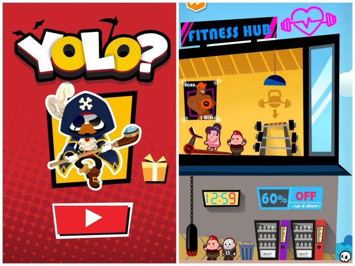 Прохождение и ответы к игре YOLO?